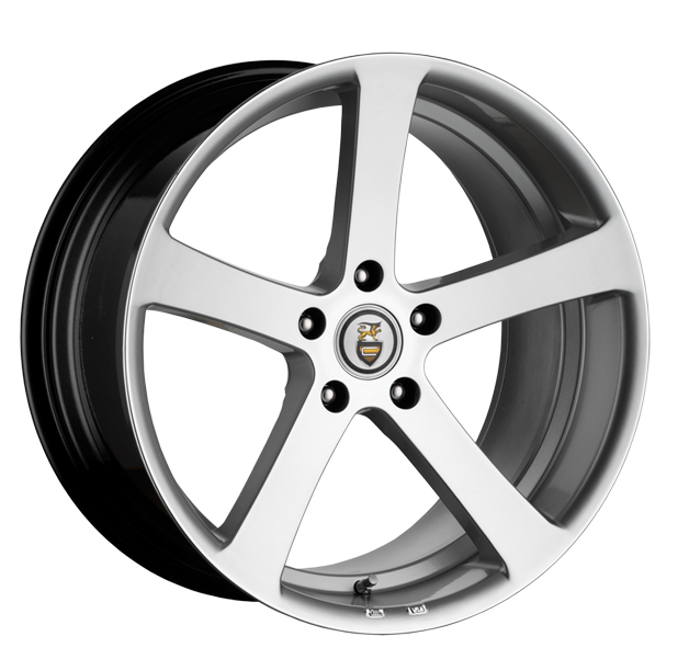 "NEW 19"" CADES APOLLO ALLOY WHEELS IN HYPER SILVER WITH 9.5"" DEEP CONCAVE REARS"
